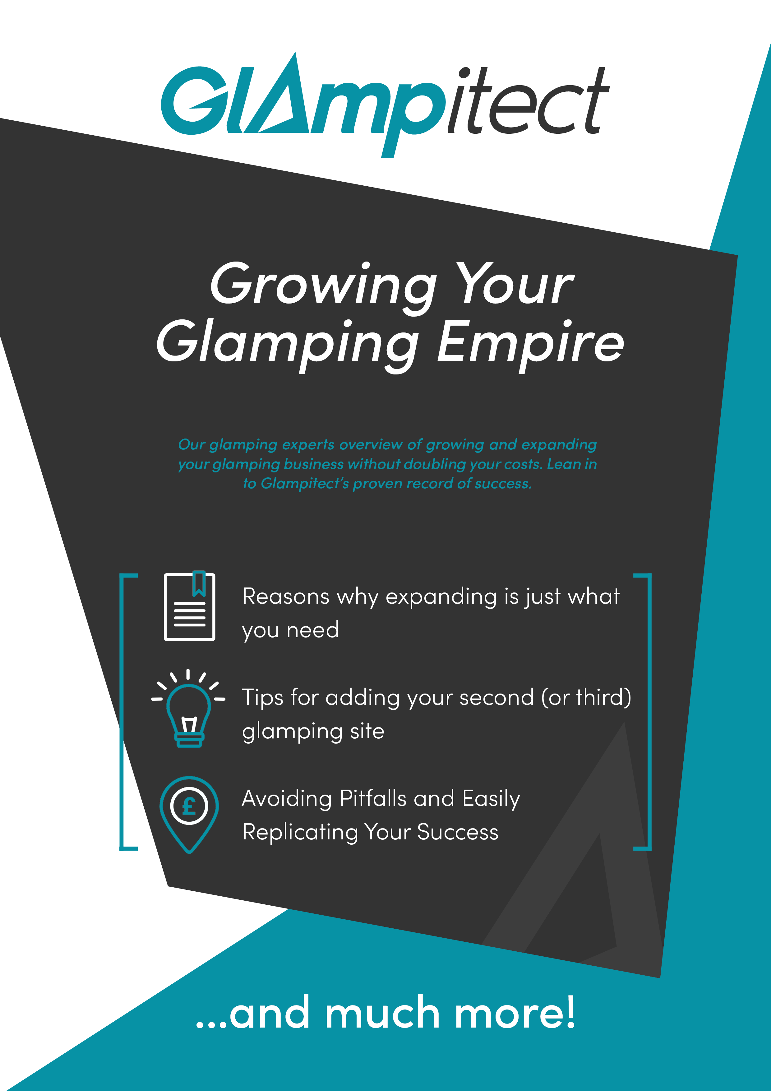 Growing Your Glamping Empire - Glampitect - Guides Front Page Designs