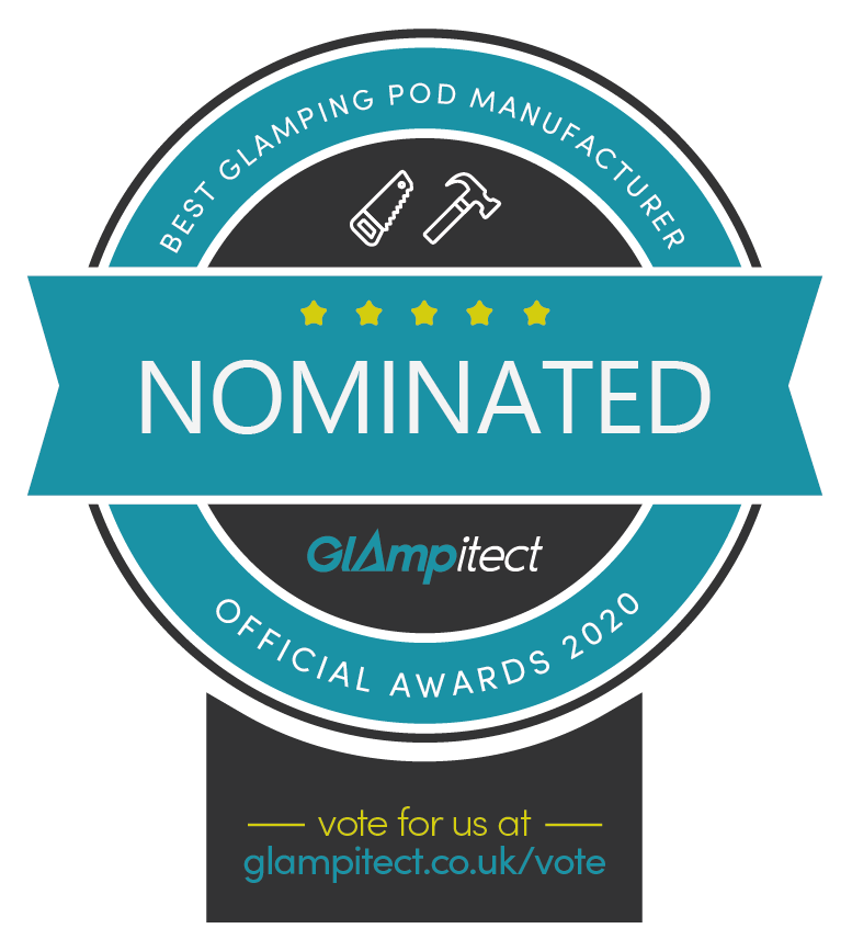 Best Glamping Pod Manufacturer in the UK Glampitect Glamping Awards 2020