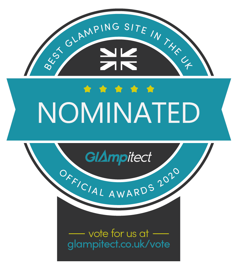 Best Glamping Pod Site in the UK Glampitect Glamping Awards 2020