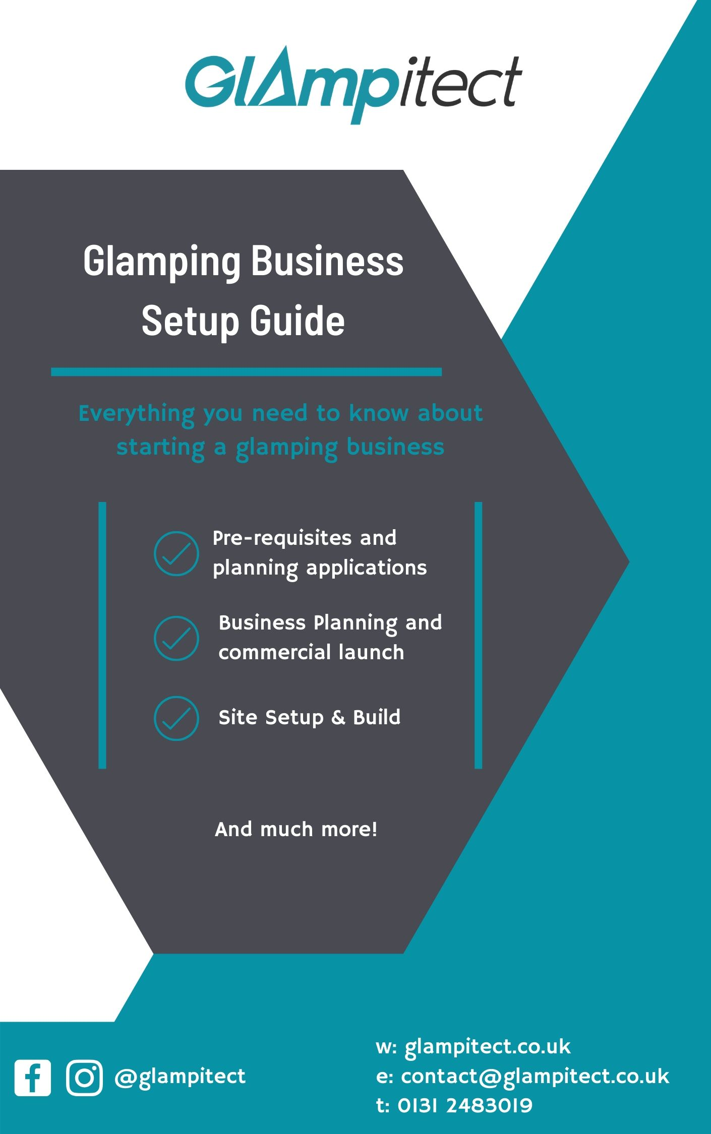 Glamping Business Setup Guide Front Page (1)