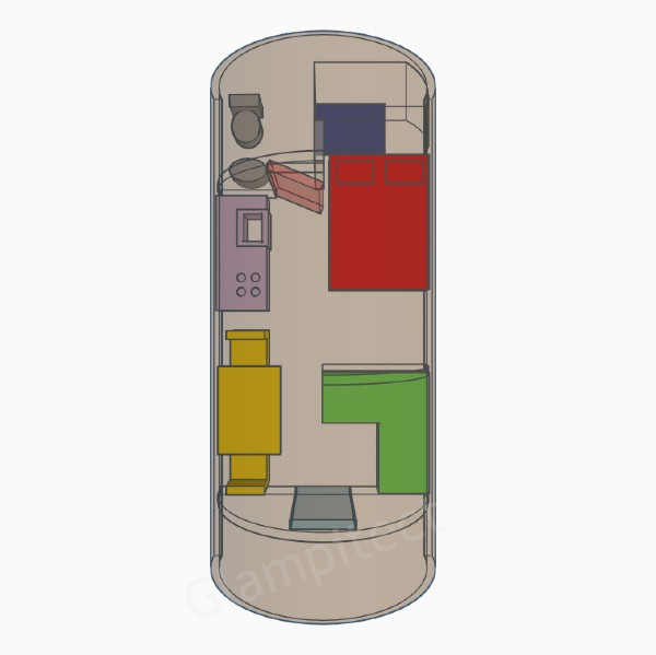 PerspectivePods CAD Designs Watermarked